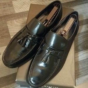 Florsheim Como Tassel Leather Loafers, 11.5 3E